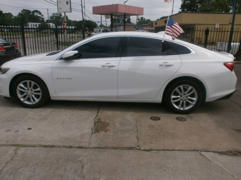 2018 Chevrolet Malibu for sale at Under Priced Auto Sales in Houston TX
