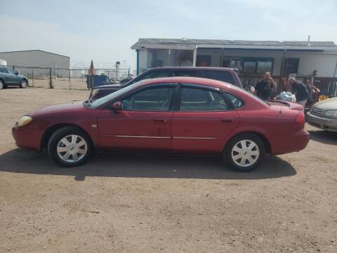 2003 Ford Taurus for sale at PYRAMID MOTORS - Fountain Lot in Fountain CO