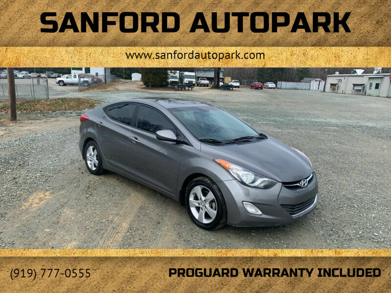 2013 Hyundai Elantra for sale at Sanford Autopark in Sanford NC