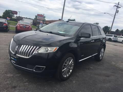 2011 Lincoln MKX for sale at Cars East in Columbus OH