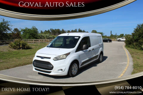 2014 Ford Transit Connect Cargo for sale at Goval Auto Sales in Pompano Beach FL