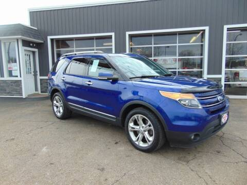 2015 Ford Explorer for sale at Akron Auto Sales in Akron OH