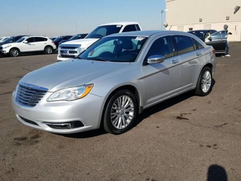 2012 Chrysler 200 for sale at Borrego Motors in El Paso TX