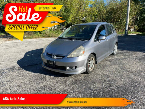 2007 Honda Fit for sale at ABA Auto Sales in Bloomington IN