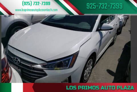 2019 Hyundai Elantra for sale at Los Primos Auto Plaza in Antioch CA
