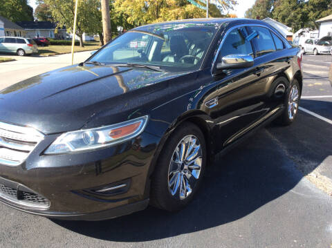 2010 Ford Taurus for sale at BISHOP MOTORS inc. in Mount Carmel IL