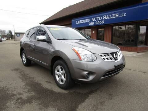 2013 Nissan Rogue for sale at LeBoeuf Auto Sales in Waterford PA