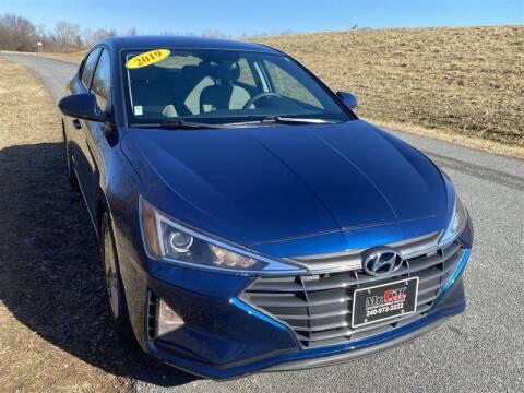 2019 Hyundai Elantra for sale at Mr. Car LLC in Brentwood MD