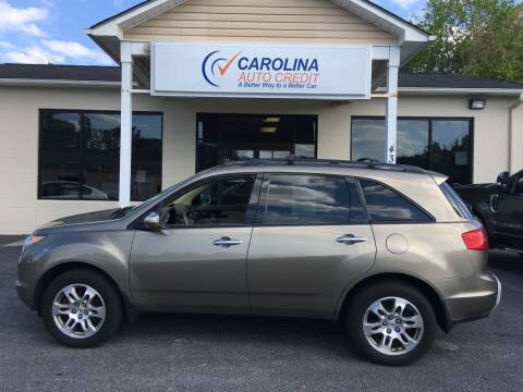 2009 Acura MDX for sale at Carolina Auto Credit in Youngsville NC