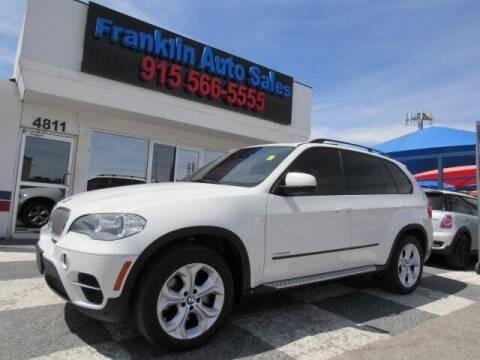 2012 BMW X5 for sale at Franklin Auto Sales in El Paso TX