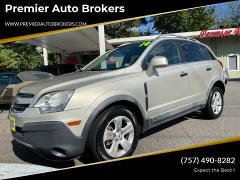 2014 Chevrolet Captiva Sport for sale at Premier Auto Brokers in Virginia Beach VA