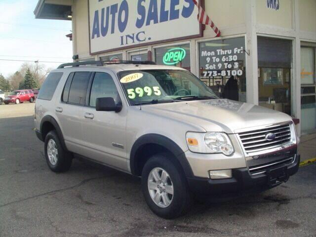 2007 Ford Explorer for sale at G & L Auto Sales Inc in Roseville MI