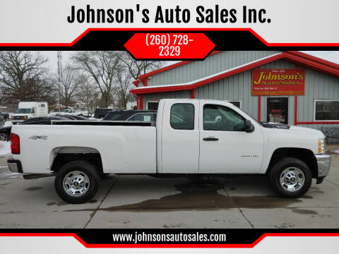 2013 Chevrolet Silverado 2500HD for sale at Johnson's Auto Sales Inc. in Decatur IN
