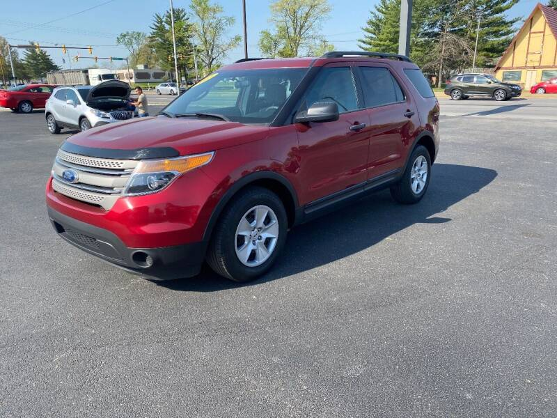 2013 Ford Explorer for sale at Approved Automotive Group in Terre Haute IN