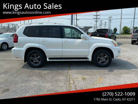 2003 Lexus GX 470 for sale at Kings Auto Sales in Cadiz KY