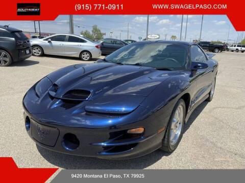 2002 Pontiac Firebird for sale at SOUTHWEST AUTO GROUP-EL PASO in El Paso TX