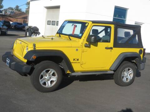 2009 Jeep Wrangler for sale at Price Auto Sales 2 in Concord NH