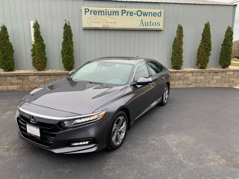 2018 Honda Accord for sale at PREMIUM PRE-OWNED AUTOS in East Peoria IL