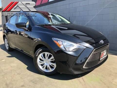 2019 Toyota Yaris for sale at Auto Republic Fullerton in Fullerton CA