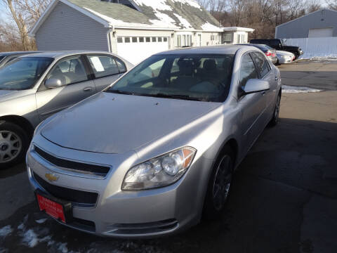2012 Chevrolet Malibu for sale at John's Auto Sales in Council Bluffs IA