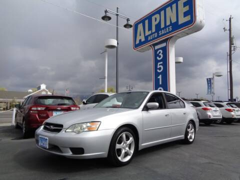 2006 Subaru Legacy for sale at Alpine Auto Sales in Salt Lake City UT
