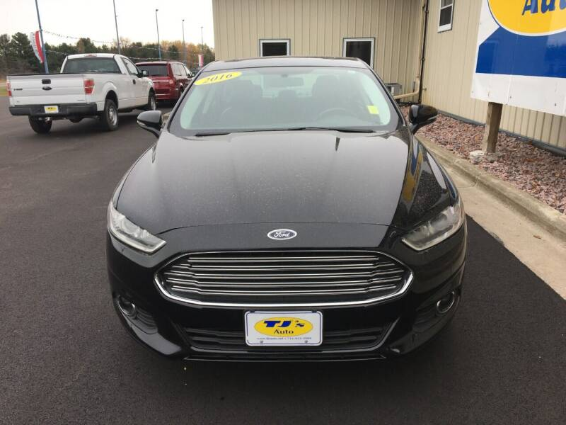 2016 Ford Fusion AWD SE 4dr Sedan - Wisconsin Rapids WI