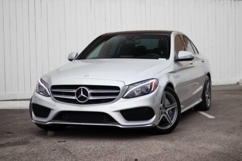 2015 Mercedes-Benz C-Class for sale at Private Club Motors in Houston TX