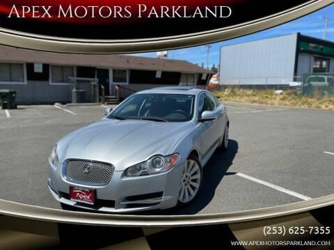 2009 Jaguar XF for sale at Apex Motors Parkland in Tacoma WA