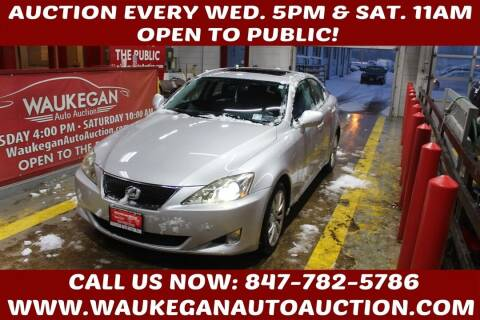 2008 Lexus IS 250 for sale at Waukegan Auto Auction in Waukegan IL