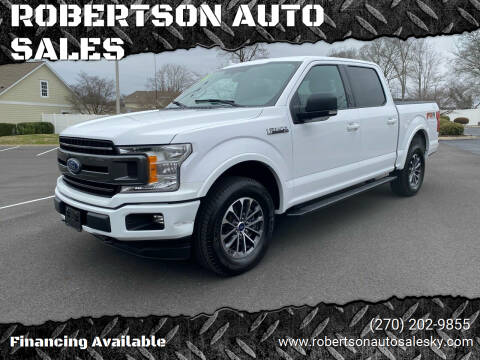 2018 Ford F-150 for sale at ROBERTSON AUTO SALES in Bowling Green KY