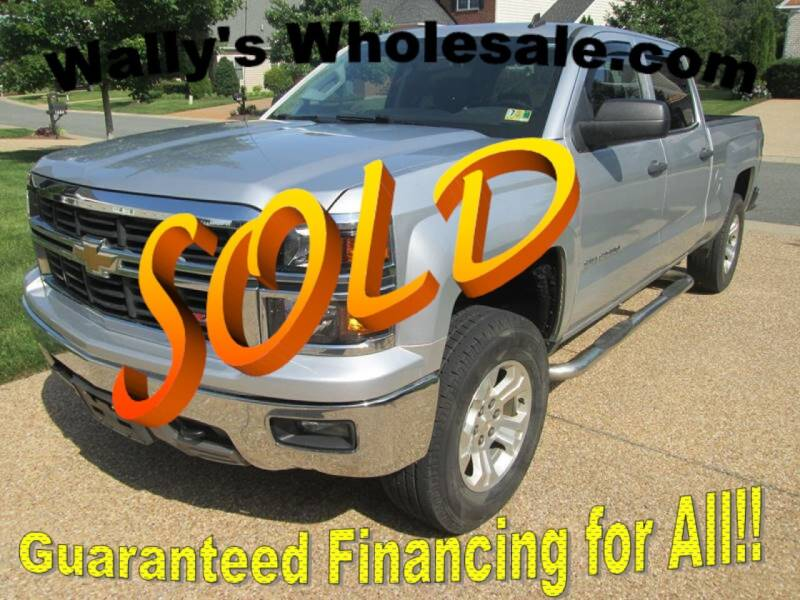 2014 Chevrolet Silverado 1500 for sale at Wally's Wholesale in Manakin Sabot VA