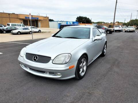 2001 Mercedes-Benz SLK for sale at Image Auto Sales in Dallas TX