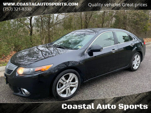 2012 Acura TSX for sale at Coastal Auto Sports in Chesapeake VA