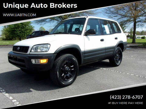 1998 Toyota RAV4 for sale at Unique Auto Brokers in Kingsport TN