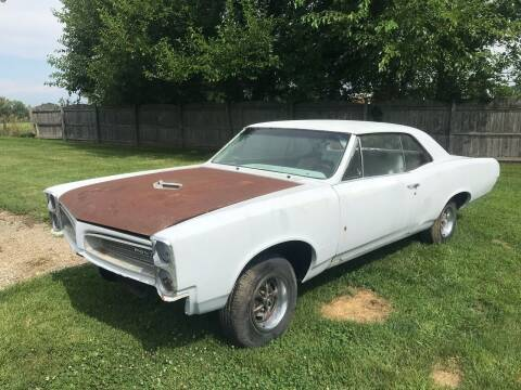 1966 Pontiac GTO for sale at 500 CLASSIC AUTO SALES in Knightstown IN