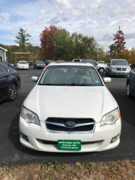 2008 Subaru Legacy for sale at Mascoma Auto INC in Canaan NH