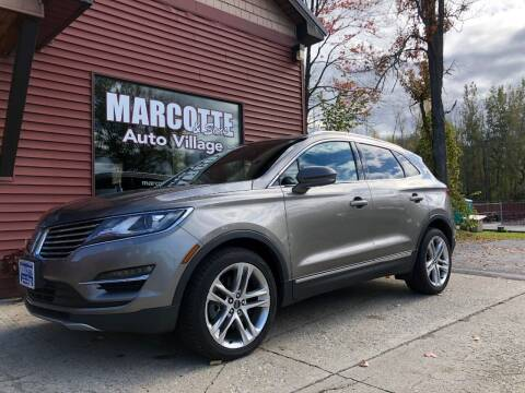 2016 Lincoln MKC for sale at Marcotte & Sons Auto Village in North Ferrisburgh VT