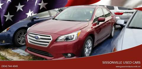 2015 Subaru Legacy for sale at Sissonville Used Cars in Charleston WV