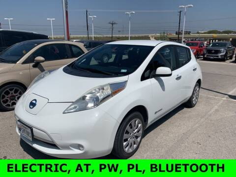 2013 Nissan LEAF for sale at Nissan of Boerne in Boerne TX