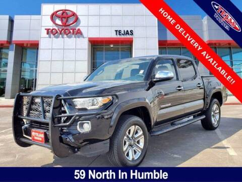 2016 Toyota Tacoma for sale at TEJAS TOYOTA in Humble TX