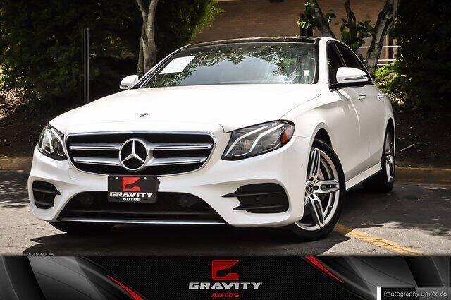 2018 Mercedes-Benz E-Class for sale at Gravity Autos Atlanta in Atlanta GA