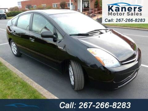 2006 Toyota Prius for sale at Kaners Motor Sales in Huntingdon Valley PA