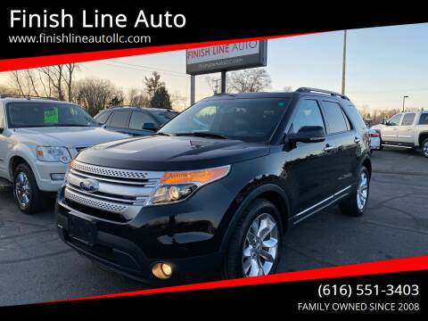 2012 Ford Explorer for sale at Finish Line Auto in Comstock Park MI