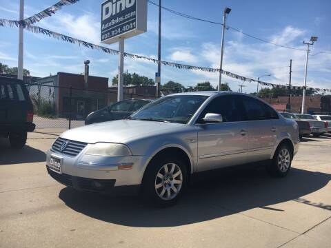 2003 Volkswagen Passat for sale at Dino Auto Sales in Omaha NE