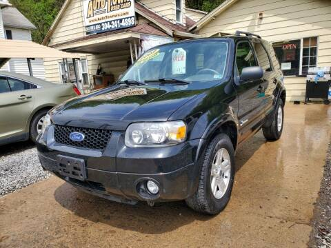 2007 Ford Escape Hybrid for sale at Auto Town Used Cars in Morgantown WV