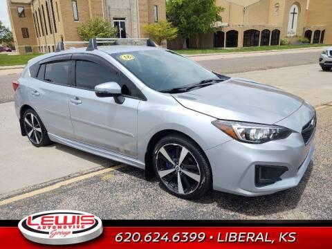 2018 Subaru Impreza for sale at Lewis Chevrolet Buick of Liberal in Liberal KS