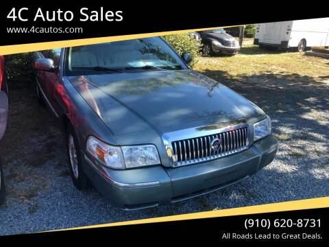 2006 Mercury Grand Marquis for sale at 4C Auto Sales in Wilmington NC