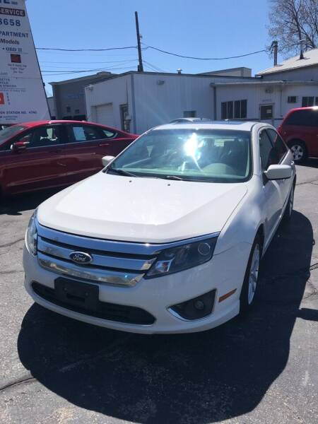 2010 Ford Fusion for sale at Riverside Garage Inc. in Haverhill MA