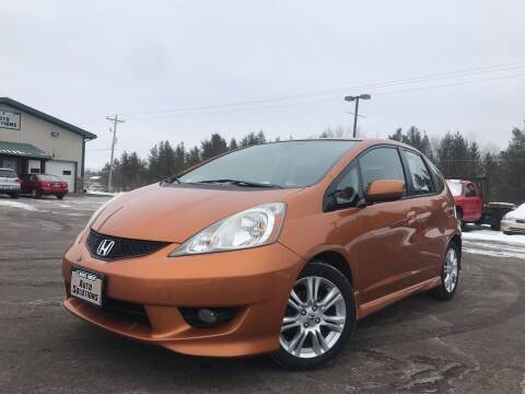 2010 Honda Fit for sale at Lakes Area Auto Solutions in Baxter MN