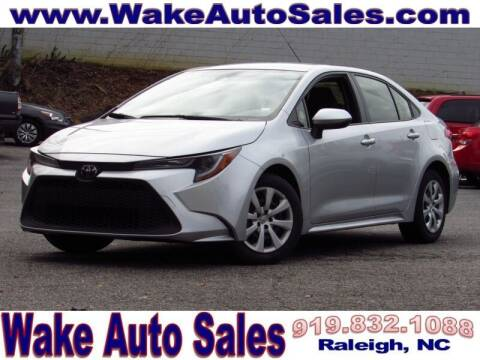 2020 Toyota Corolla for sale at Wake Auto Sales Inc in Raleigh NC